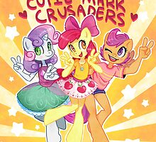 My Little Pony Friendship Is Magic - Cutie Mark Crusaders by Hektious
