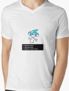 Mushroom Dance Drawing Mens V-Neck T-Shirt