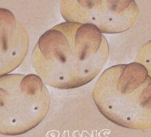 fresh baked buns Sticker