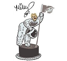 Miley Cyrus T Shirt - Twerking At The VMA Awards Photographic Print