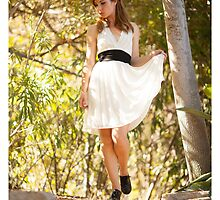 Ingrid's White Dress by MudStickPhoto