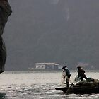 Fishermen, Halong Bay by Glen O'Malley