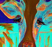 Blue Bovine by EloiseArt