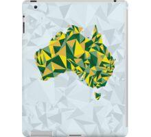 Abstract Australia Wattle Gold iPad Case/Skin