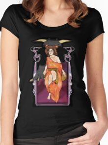 No Dana, Only Zuul Women's Fitted Scoop T-Shirt