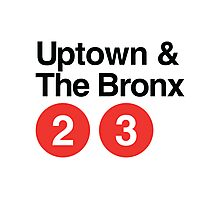 Uptown & The Bronx Photographic Print