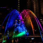 Fountain Fireworks by PFPhotography