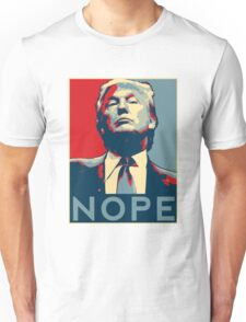 "Donald Trump ""NOPE"" Unisex T-Shirt"
