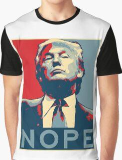 "Donald Trump ""NOPE"" Graphic T-Shirt"