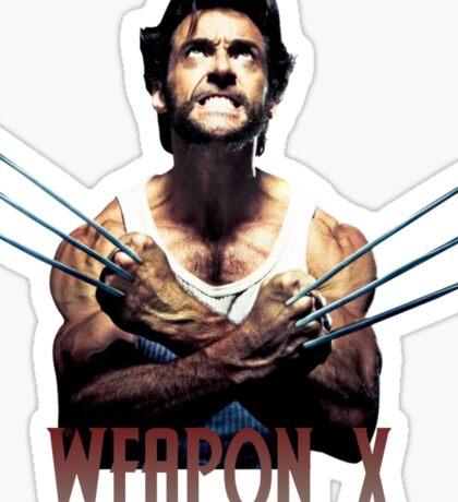 Wolverine - Weapon X Sticker