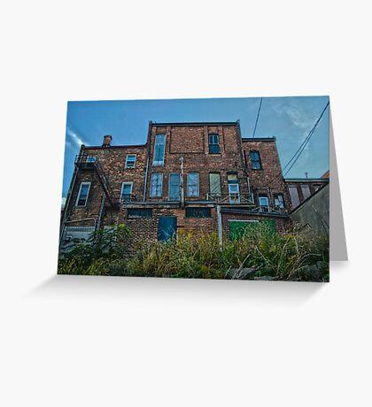 Historic rustic Chatham-Kent building Greeting Card