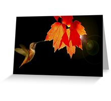 WINNER IN PHOTOGRAPHY CHALLENGE GROUP..AUTUMN LEAVES~ Greeting Card