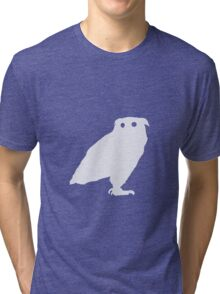 Owl I Ever Wanted-White Tri-blend T-Shirt