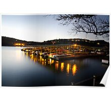 Calm dock by Mozarts Poster