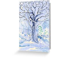I Hold Winter in my Boughs Greeting Card
