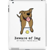 Beware of Dog iPad Case/Skin