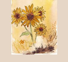 Sunflowers (Helianthus annuus) Womens Fitted T-Shirt