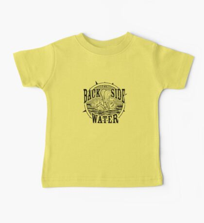 Back Side of Water (Black) Kids Clothes
