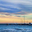 Sunset at Queenscliff by Maureen Clark