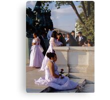 Wedding in Washington, DC Metal Print
