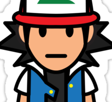 Ash Ketchum and Pikachu! Sticker