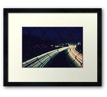City Flow Framed Print