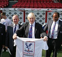 Boris Johnson visits Crystal Palace Football Club Foundation, by Keith Larby