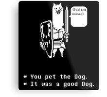 You Pet the Dog Metal Print