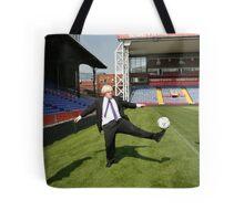Boris Johnson visits Crystal Palace Football Club Foundation Tote Bag