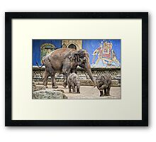 dwarfish giants Framed Print
