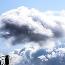 CLOUDS OVER THE PDC 1 by Rebecca Dru