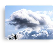 CLOUDS OVER THE PDC 1 Canvas Print