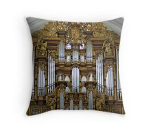 Fulda Cathedral organ Throw Pillow