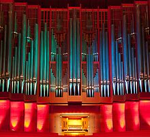 Christchurch Town Hall pipe organ by churchmouse