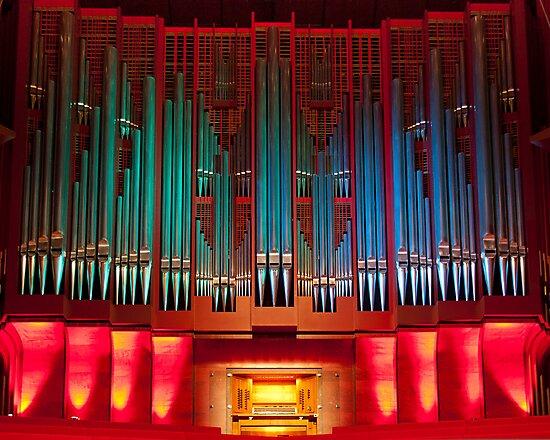Christchurch Town Hall pipe organ by churchmouse
