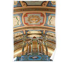 Canadian pipe organ Poster