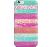 Tropical Stripes iPhone Case/Skin