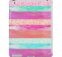 Tropical Stripes iPad Case/Skin