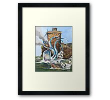 Attack on Mc.GREGOR Framed Print