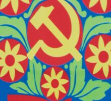 Vietnam Propaganda - Flowers Sticker