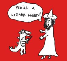 You're a Lizard Harry by xyphious