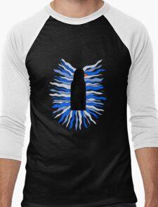 The Black Penguin Men's Baseball ¾ T-Shirt