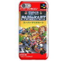 Super Mario Kart Nintendo Super Famicom Japanese Box Art Shirt (SNES) iPhone Case/Skin