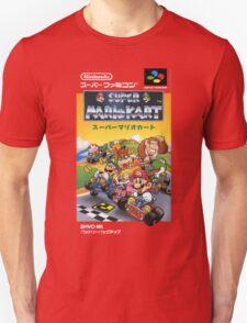Super Mario Kart Nintendo Super Famicom Japanese Box Art Shirt (SNES) T-Shirt