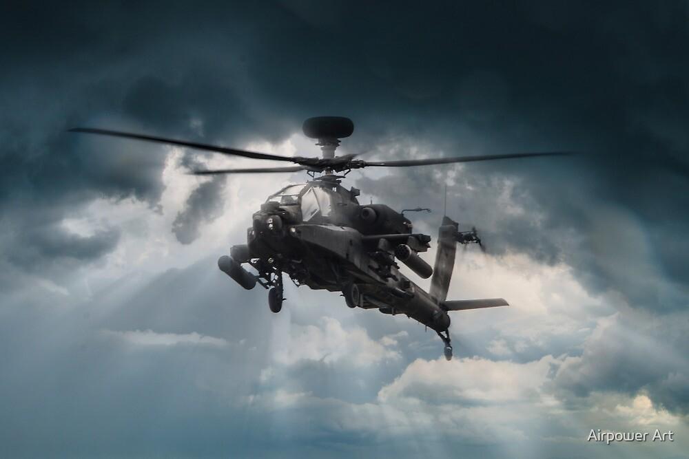 Apache Gunship by J Biggadike