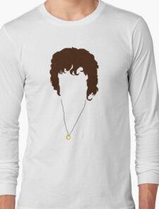 Frodo baggins lotr silhouette  Long Sleeve T-Shirt