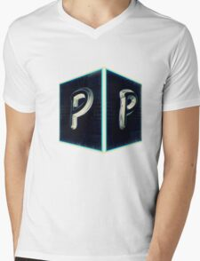 PPreductions Logo Mens V-Neck T-Shirt