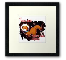 Otter this World Framed Print