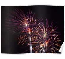 State Fair Fire Works Poster