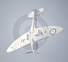Supermarine Spitfire  Dive by Nigel Bangert